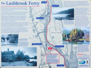 Lashbrook Ferry Map